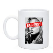 Чашка Bad girls have more fun