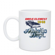 Чашка Drive element Athletic Dept 1946