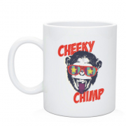 Чашка cheeky chimp monkey