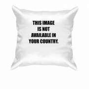 Подушка Image is not available in your country