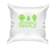Подушка Android People