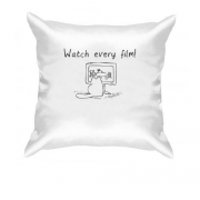 Подушка Simon's cat - vatch every film!
