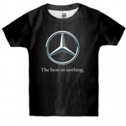 Детская 3D футболка Mercedes-Benz - The best or nothing