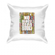 Подушка No blogs! Read books
