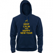 Толстовка Keep calm and Happy New Year