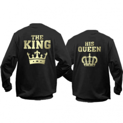 Паpні кофти The King - his Queen