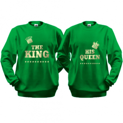 Паpні кофти The King - his Queen (2)