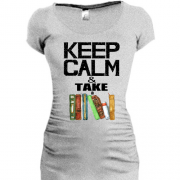 Туника Keep calm & take book