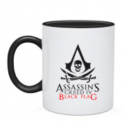 Чашка с лого Assassin's Creed IV Black Flag