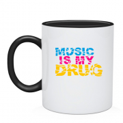 Чашка Music is my drug