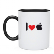 Чашка I love apple