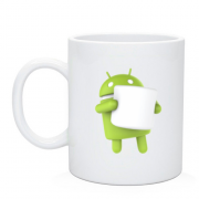 Чашка Android 6 Marshmallow