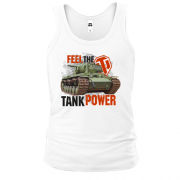 Майка WOT - Feel the tank power