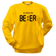 Світшот It's time for Beer