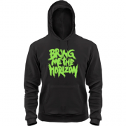 Толстовка Bring me the horizon green
