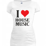 Туника I love house music