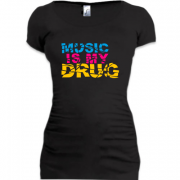 Туника Music is my drug