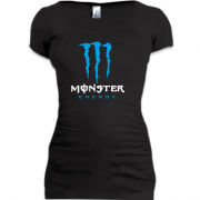 Подовжена футболка Monster energy (blue)