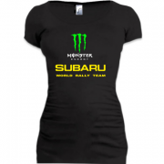 Подовжена футболка Subaru monster energy