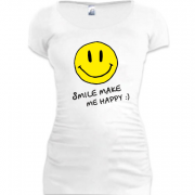 Туника Smile Make me happy