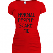 Туника Normal peoplle scare me