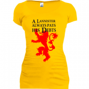 Туника a lannister always pays his debts