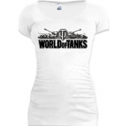 Подовжена футболка World of Tanks Контур