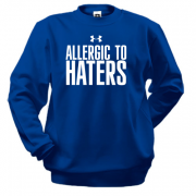 Свитшот Allergic to haters