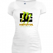Подовжена футболка DC Monster energy