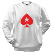 Свитшот PokerStars Christmas Star Baseball Jersey