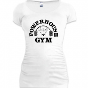 Подовжена футболка Powerhouse gym