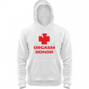 Толстовка Orgasm donor