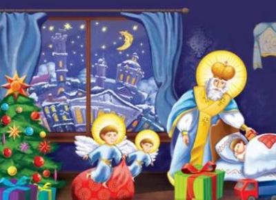 Чем порадовать детей и взрослых в День Святого Николая