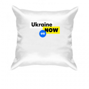Подушка Ukraine NOW UA