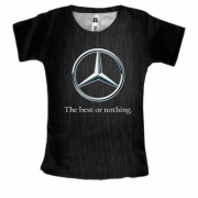 Женская 3D футболка Mercedes-Benz - The best or nothing