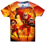 Детская 3D футболка The Incredibles