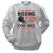 Свитшот Boxing fan