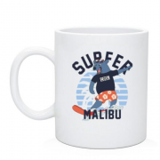 Чашка Surfer Malibu Bear