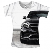 Женская 3D футболка Mercedes Benz GLE