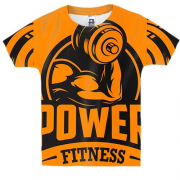 Детская 3D футболка Power Fitness
