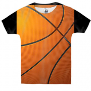 Детская 3D футболка Big Basketball pattern