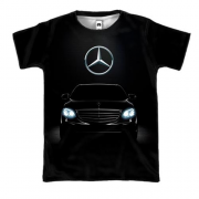3D футболка Mercedes-Benz Black