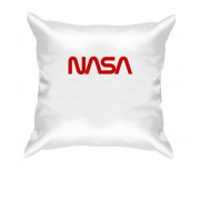 Подушка NASA Worm logo
