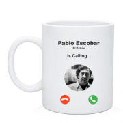 Чашка Pablo Escobar is calling