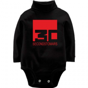 Детский боди LSL Thirty seconds to mars black