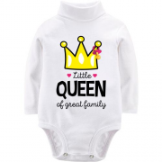Детский боди LSL Little queen af great family