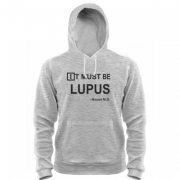 Толстовка It must be lupus