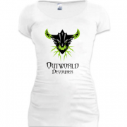 Подовжена футболка outworld