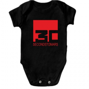 Дитячий боді Thirty seconds to mars black
