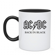 Чашка AC/DC Black in Black